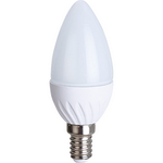 Ecola Light candle   LED  5,0W 220V E14 4000K свеча 100x37 C4TV50ELC