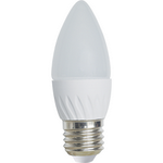 Ecola Light candle   LED  5,0W 220V E27 4000K свеча 100x37 C7TV50ELC