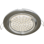 Ecola GX53 H4 Downlight without reflector_chrome (светильник) 38x106 - 2pack FC53P2ECB