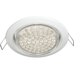Ecola GX53 H4 Downlight without reflector_white (светильник) 38x106 - 2pack FW53P2ECB