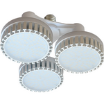 Ecola High Power LED Premium 69W 220V 110° E27 2800K (комплект) 165х260mm HP7W69ELH