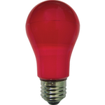 Ecola classic   LED color  8,0W A55 220V E27 Red Красная 360° (композит) 108x55 K7CR80ELY
