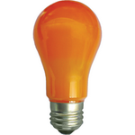 Ecola classic   LED color  8,0W A55 220V E27 Orange Оранжевая 360° (композит) 108x55 K7CY80ELY