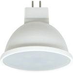 Ecola Light MR16   LED  7,0W  220V GU5.3 6000K матовая 48x50 (1 из ч/б уп. по 4) M7MD70ELC