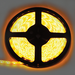 Ecola LED strip 220V STD  4,8W/m IP68 12x7 60Led/m Yellow желтая лента  10м. S10Y05ESB
