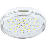Ecola Light GX53 LED  8,0W Tablet 220V 4200K 27x75 прозрачное стекло 30000h T5TV80ELC