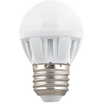 Ecola Light Globe  LED  7,0W G45  220V E27 4000K шар (композит) 82x45  (1 из ч/б уп. по 4) TF7V70ELC