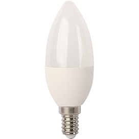 Ecola Light candle   LED  7,0W 220V E14 2700K свеча (композит) 105x37 C4TW70ELC