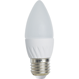 Ecola Light candle   LED  5,0W 220V E27 2700K свеча 100x37 C7TW50ELC