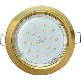 FG53H4ECB Ecola GX53 H4 Downlight without reflector_gold (светильник) 38x106
