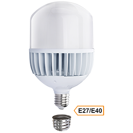 Ecola High Power LED Premium 100W 220V универс. E27/E40 (лампа) 4000K 280х160mm HPV100ELC