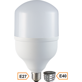 Ecola High Power LED Premium  40W 220V универс. E27/E40 (лампа) 6000K 200х120mm HPUD40ELC