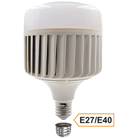 Ecola High Power LED Premium 150W 220V универс. E27/E40 (лампа) 4000K 260х180mm HPV150ELC