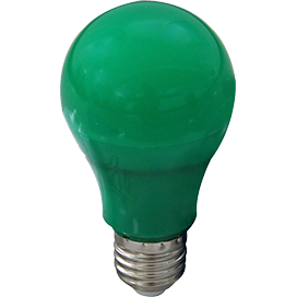 Ecola classic   LED color 12,0W A60 220V E27 Green Зеленая 360° (композит) 110x60 K7CG12ELY