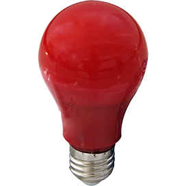 Ecola classic   LED color 12,0W A60 220V E27 Red Красная 360° (композит) 110x60 K7CR12ELY