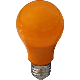 Ecola classic   LED color 12,0W A60 220V E27 Orange Оранжевая 360° (композит) 110x60 K7CY12ELY