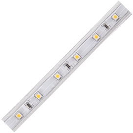 S10W05ESB Ecola LED strip 220V STD  4,8W/m IP68 12x7 60Led/m 2800K 4Lm/LED 240Lm/m лента 10м.