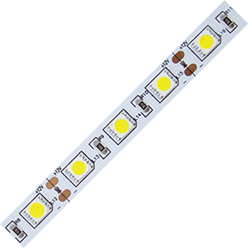 S2LV1411B Ecola LED strip STD 14.4W/m 12V IP20 10mm 60Led/m 4200K 14Lm/LED 840Lm/m светодиодная лента  1м.