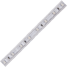 SA1B05ESB Ecola LED strip 220V STD  4,8W/m IP68 12x7 60Led/m Blue синяя лента на катушке 100м.