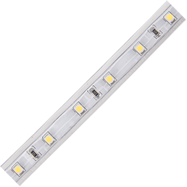 SA5V05ESB Ecola LED strip 220V STD  4,8W/m IP68 12x7 60Led/m 4200K 4Lm/LED 240Lm/m лента на катушке  50м.