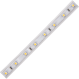 SB1G05ESB Ecola LED strip 220V STD  4,8W/m IP68 10x6 60Led/m Green зеленая лента 100м.