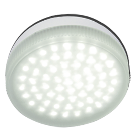 Ecola Light GX53 LED 4,2W Tablet 220V 4200K 27x75 матовое стекло 30000h T5MV42ELC