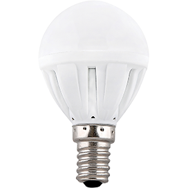 Ecola Light Globe  LED  7,0W G45  220V E14 2700K шар (композит) 82x45 (1 из ч/б уп. по 4) TF4W70ELC